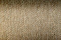 Textura de lino natural ligera para el fondo Fotografía de archivo
