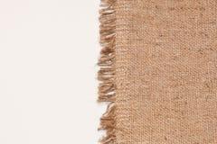 Textura de lino natural para el fondo Foto de archivo libre de regalías