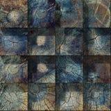 Textura de los bloques de madera de la grieta Imágenes de archivo libres de regalías