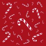 Textura de los caramelos de Navidad Foto de archivo libre de regalías