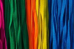 Textura de los cordones Fotografía de archivo