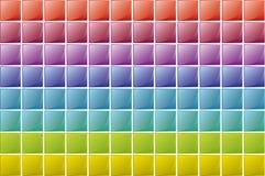 Textura de los cuadrados Imagenes de archivo