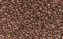 Textura de los granos de café Foto de archivo libre de regalías