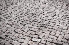 Textura de los ladrillos del adoquín Foto de archivo