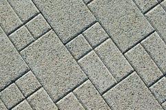 Textura de los ladrillos del pavimento Fotografía de archivo