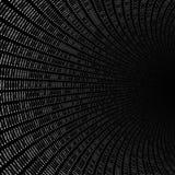 Textura de los números binarios Imagen de archivo libre de regalías
