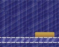 Textura de los pantalones vaqueros ilustración del vector