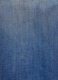 Textura de los pantalones vaqueros Foto de archivo libre de regalías