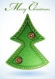 Textura de los pantalones vaqueros de la Navidad Imagenes de archivo