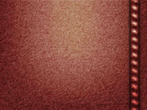 Textura de los pantalones vaqueros del vector Fotografía de archivo libre de regalías