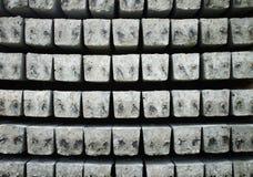 Textura de los pilares del cemento Foto de archivo libre de regalías