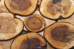 Textura de los registros de los productos de madera Imagen de archivo libre de regalías