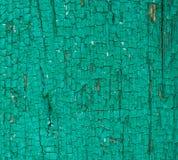 Textura de los tableros pintados aceite viejo de pino Imágenes de archivo libres de regalías