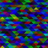 Textura de los triángulos del mosaico Fotos de archivo