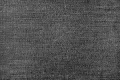 Textura de los vaqueros negros Foto de archivo libre de regalías