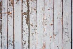 Textura de los viejos tableros de madera grises y verdes olivas de la cerca fotografía de archivo