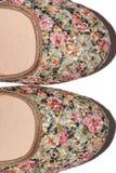Textura de los zapatos Fotos de archivo