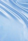 Textura de lujo azul elegante lisa del paño de la seda o del satén como abstra Fotos de archivo libres de regalías