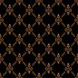 Textura de lujo del oro Imágenes de archivo libres de regalías