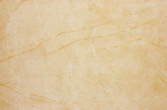 Textura de mármol amarillenta Fotos de archivo libres de regalías