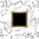Textura de mármol blanca Fotografía de archivo