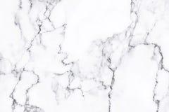 Textura de mármol blanca con el modelo natural para el fondo foto de archivo