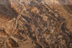 Textura de mármol de Brown Fotografía de archivo libre de regalías