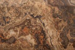 Textura de mármol de Brown Imagen de archivo libre de regalías