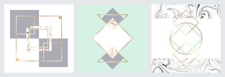 Textura de mármol minimalista Imágenes de archivo libres de regalías