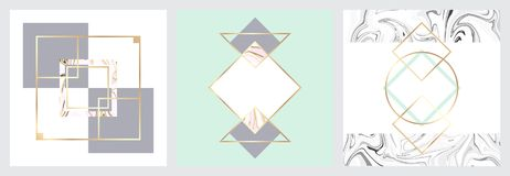 Textura de mármol minimalista libre illustration