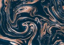 Textura de mármol oscura única Ilustraciones abstractas creativas libre illustration