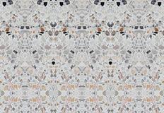 Textura de mármol de piedra de la pared del diseño, suelo del terrazo para el fondo Foto de archivo