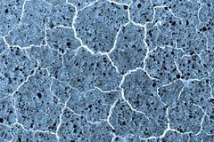 Textura de mármore azul Imagens de Stock