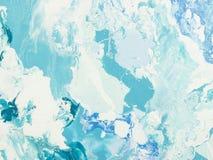Textura de mármore azul Foto de Stock Royalty Free