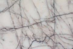 Textura de mármore branca com teste padrão natural para o trabalho de arte do fundo ou do projeto Imagem de Stock