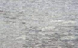 Textura de mármore branca e cinzenta do retângulo linear da telha fotografia de stock