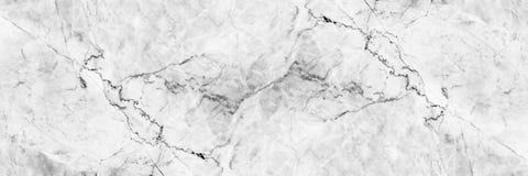 textura de mármore branca elegante horizontal para o teste padrão e o backgrou imagem de stock