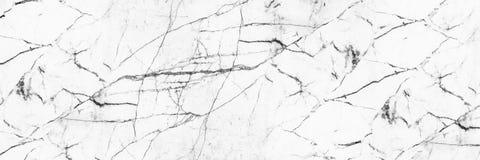 textura de mármore branca elegante horizontal para o teste padrão e o backgrou Foto de Stock