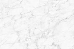 Textura de mármore branca, estrutura detalhada do mármore em natural modelado para o fundo e projeto Fotos de Stock Royalty Free