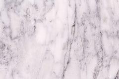 Textura de mármore branca para o fundo e o projeto Imagem de Stock