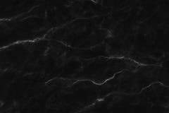 Textura de mármore preta, estrutura detalhada do mármore em natural modelado para o fundo e projeto imagem de stock royalty free