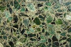 Textura de mármore verde Foto de Stock