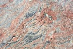 Textura de mármore vermelha Imagem de Stock