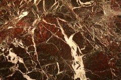 Textura de mármore vermelha Foto de Stock Royalty Free