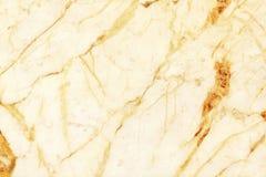 Textura de m?rmore branca da parede do ouro para o trabalho de arte do fundo e do projeto, teste padr?o sem emenda da pedra da te imagens de stock