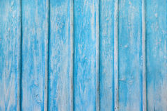 Textura de madeira azul Imagens de Stock Royalty Free