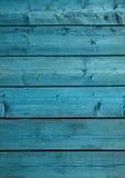 Textura de madeira azul do contexto velha e grunge imagem de stock royalty free