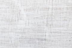 Textura de madeira branca da parede Foto de Stock Royalty Free