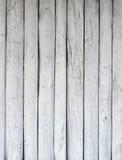 Textura de madeira branca, teste padrão antigo do fundo da superfície da madeira Fotografia de Stock Royalty Free