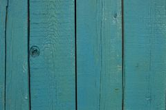 Textura de madeira brilhante de turquesa do sumário sobre o fundo natural claro azul da cor, contexto velho do painel com espaço  imagens de stock